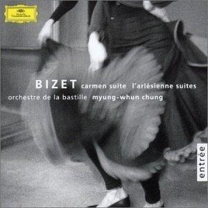 Bizet: Carmen Suite & I'Arlésienne Suites album cover