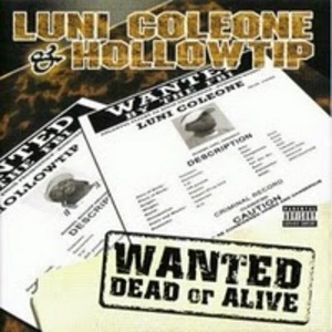 Wanted Dead Or Alive album cover