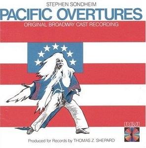 Pacific Overtures (1976 Original Broadway Cast) album cover