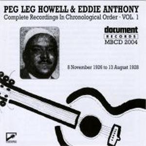 Peg Leg Howell And Eddie Anthony Vol.1 album cover