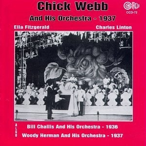The Orchestras Of Chick Webb Bill Challis And Woody Herman album cover