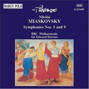 Miaskovsky: Symphonies Nos. 5 And 9 album cover