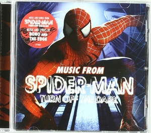 Music from Spider-Man: Turn Off The Dark album cover