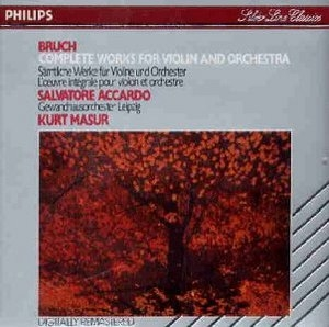 Bruch: Complete Works For Violin And Orchestra album cover