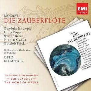 Mozart: Magic Flute (La Flûte Enchantée) album cover
