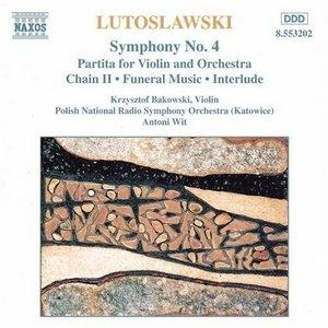 Lutoslawski: Symphony No.4~ Partita For ... album cover