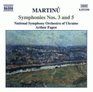Martinu: Symphonies Nos.3 & 5 album cover