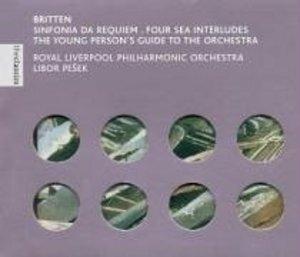 Britten: Sinfonia Da Requiem album cover