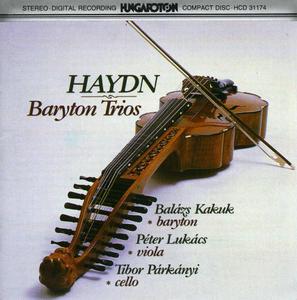 Haydn: Baryton Trios album cover