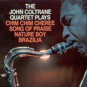 The John Coltrane Quartet Plays album cover