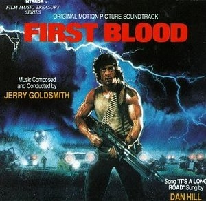 First Blood: Original Motion Picture Soundtrack album cover
