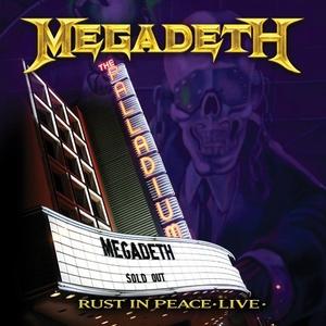 Rust In Peace: Live album cover