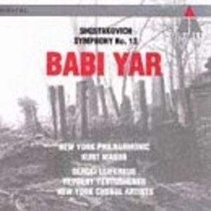 Shostakovich: Symphony No.13, Babi Yar album cover