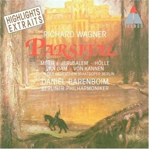 Wagner: Parsifal Highlights album cover