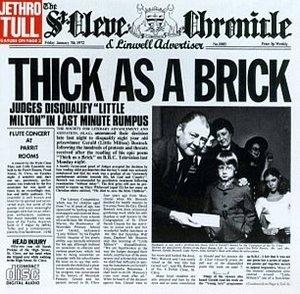 Thick As A Brick album cover