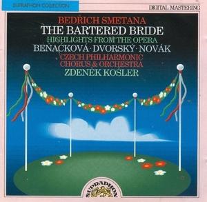 Smetana: The Bartered Bride album cover