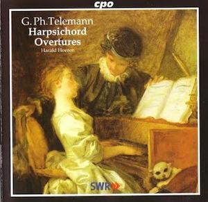 Telemann-6 Harpsichord Overtures TWV32-5-10 album cover