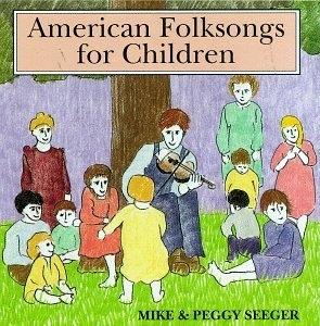 American Folksongs For Children album cover