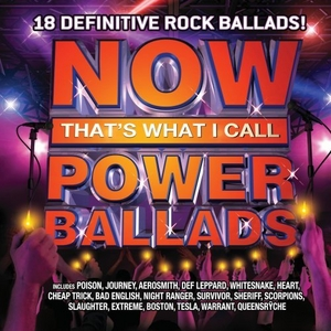 Now That's What I Call Power Ballads album cover