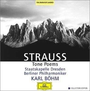 Strauss: Tone Poems album cover