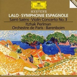 Lalo: Symphonie Espagnole, Saint-Saëns: Violin Concerto No.3 album cover