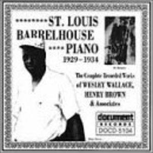 St Louis Barrelhouse Piano 1929-1934 album cover