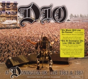 At Donington UK: Live 1983 & 1987 album cover