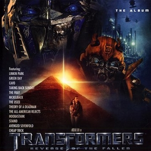 Transformers: Revenge Of The Fallen (The Album) album cover