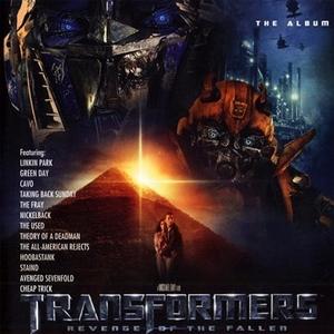 Transformers: Revenge Of The Fallen (The Album) album cover