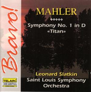 Mahler: Symphony No.1 In D, 'Titan' album cover