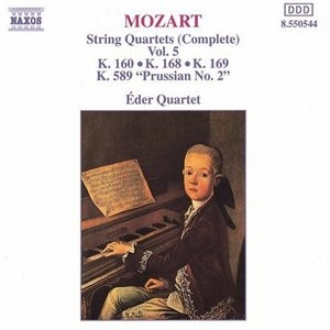 Mozart: Complete String Quartets, Vol.5 album cover