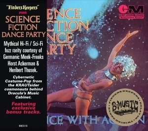 Science Fiction Dance Party: Dance With Action album cover