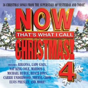 Now That's What I Call Christmas 4 album cover