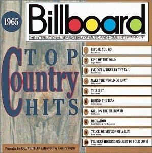 Billboard Top Country Hits: 1965 album cover