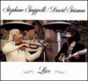 Stephane Grappelli And David Grisman Live album cover
