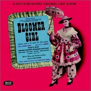 Bloomer Girl (1944 Original Broadway Cast)  album cover