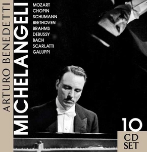 Arturo Benedetti Michelangeli (Box Set) album cover