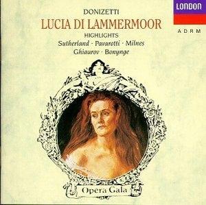 Donizetti: Lucia Di Lammermoor: Highlights album cover