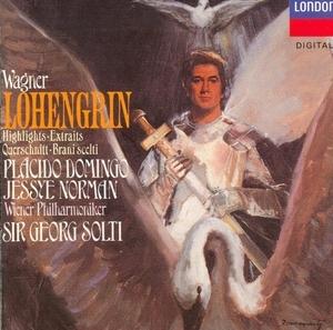 Wagner: Lohengrin Highlights album cover