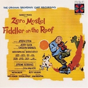 Fiddler on the Roof (1964 Original Broadway Cast) album cover