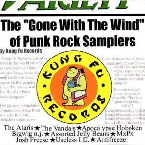 Kung Fu Sampler, Vol. 2: The Gone With The Wind Of Punk Rock Sampler album cover
