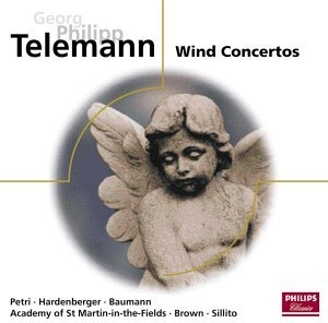 Telemann: Wind Concertos album cover