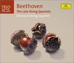Beethoven: The Late String Quartets album cover