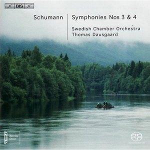 Schumann: Symphonies Nos.3 & 4 album cover