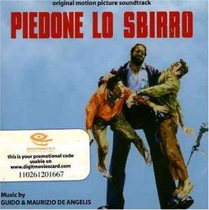 Piedone Lo Sbirro (Original Motion Picture Soundtrack) album cover