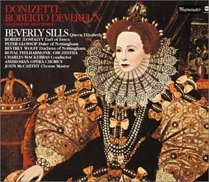Donizetti-Roberto Devereux album cover