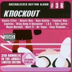 Greensleeves Rhythm Album #36: Knockout album cover