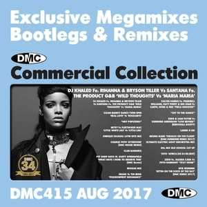 DMC Commercial Collection, Vol. 415 (August 2017): Exclusive Megamixes Bootlegs & Remixes  album cover