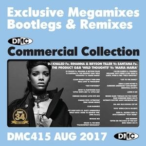 DMC Commercial Collection, Vol. 415 (August 2017): Exclusive Megamixes Bootlegs & Remixes  album cover