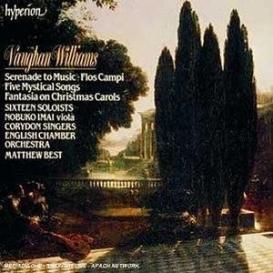 Vaughan Williams: Serenade To Music~ Flos Campi album cover